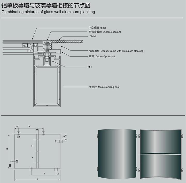 单层铝板结构图