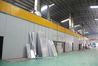 玺世金属室内铝单板生产车间