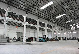 墙铝产品生产车间