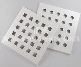 室内冲孔勾搭式铝单板